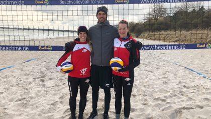 Beachteam Aulenbrock/Ferger in Timmendorfer Strand