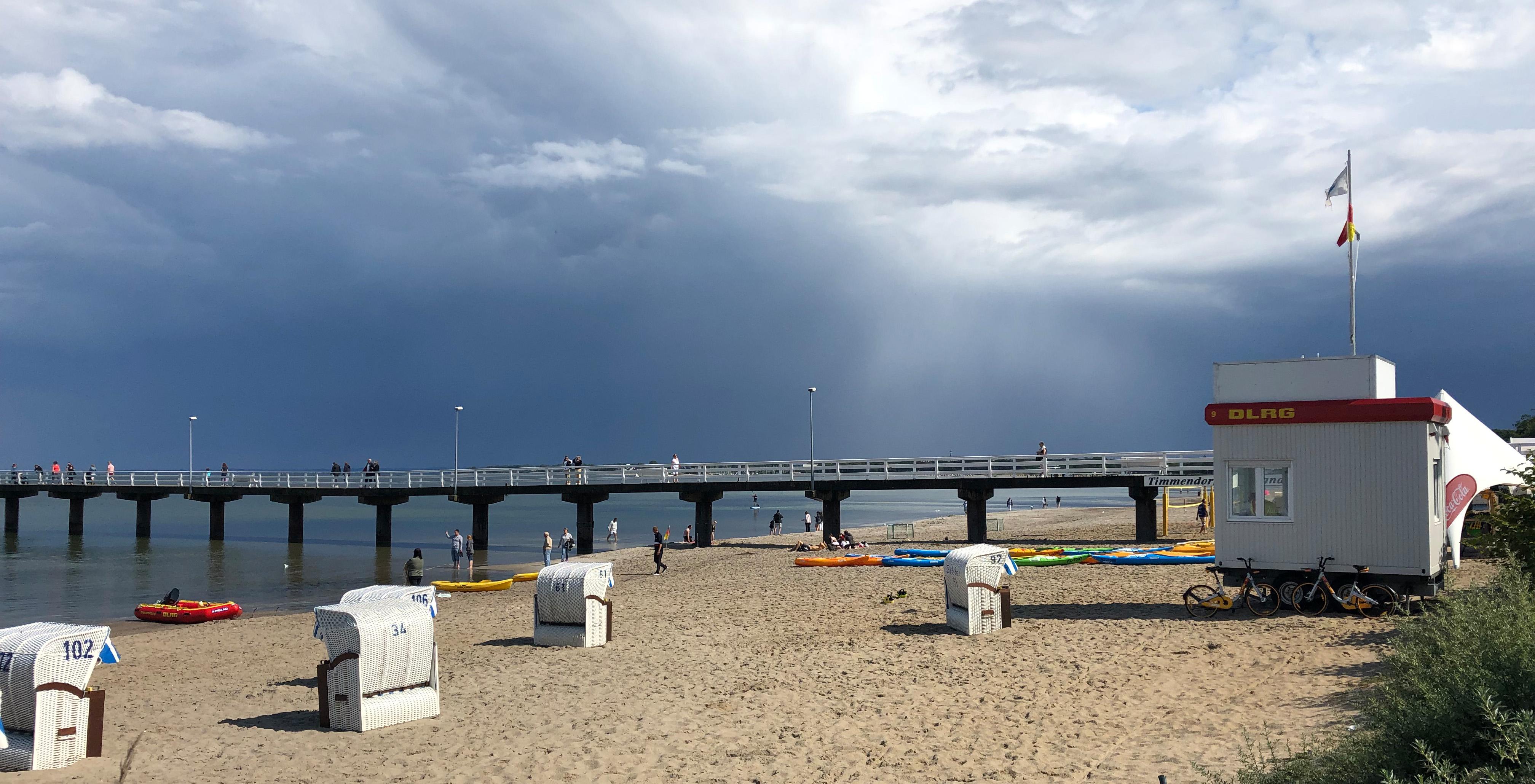 Wann wird die Ostsee zur Gefahr?