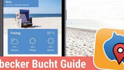 Die App informiert die Gäste über Sehenswertes in der Lübecker Bucht.