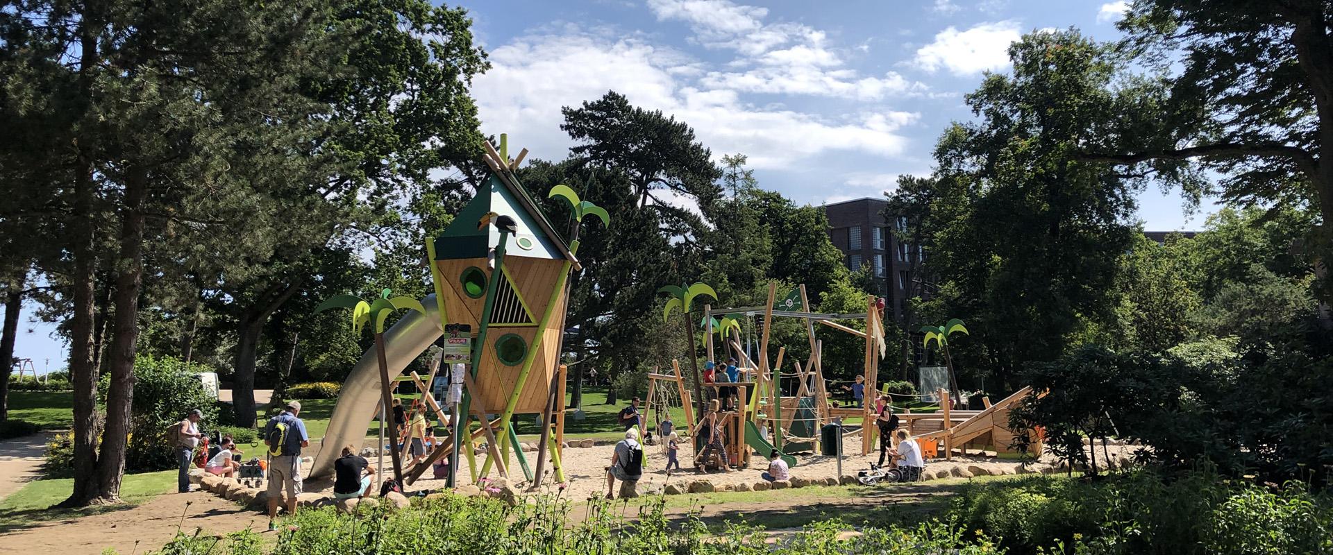 Neuer Spielplatz in Timmendorfer Strand